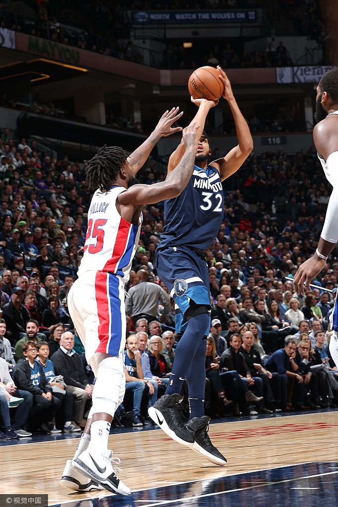 [NBA]森林狼97-100活塞(12张)