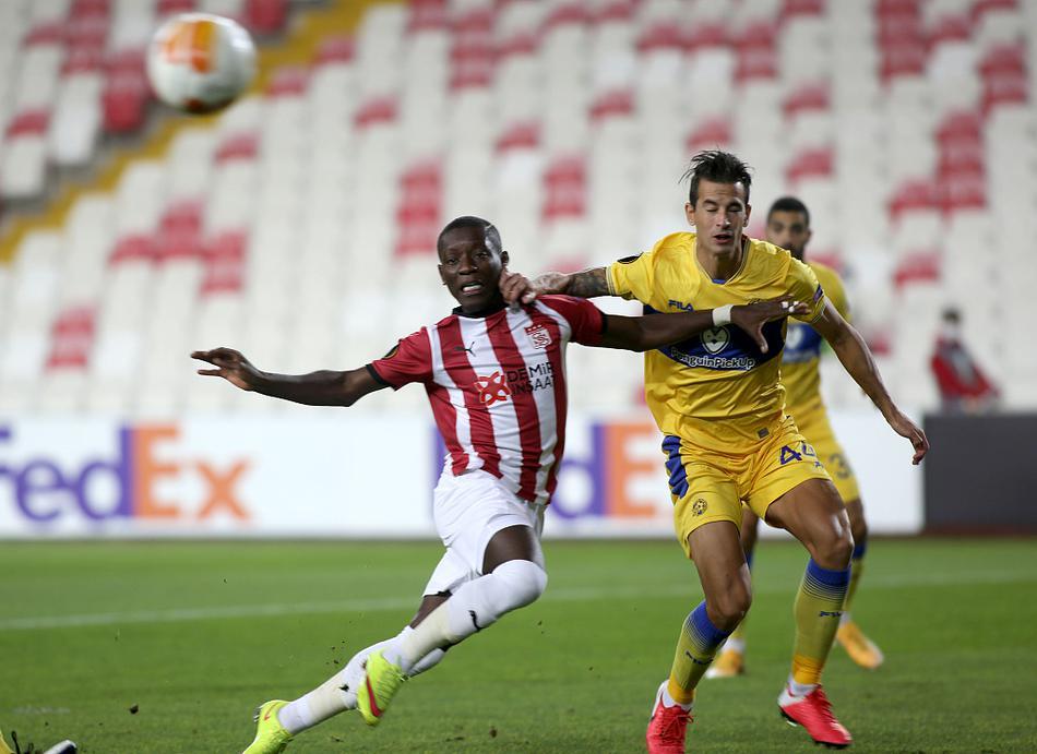 [欧联杯]锡瓦斯体育1-2特拉维夫马卡比