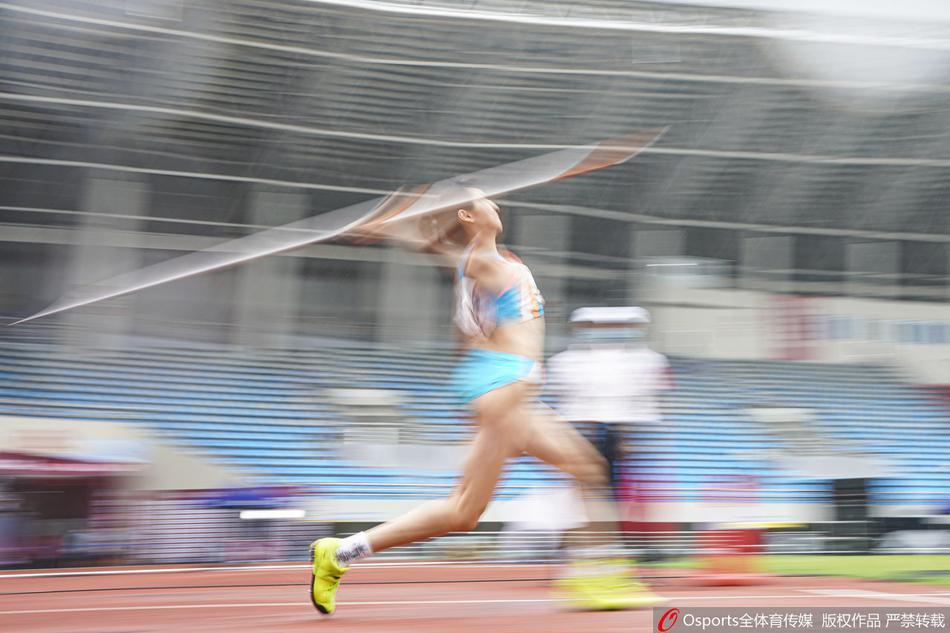 全国田径锦标赛女子七项全能标枪