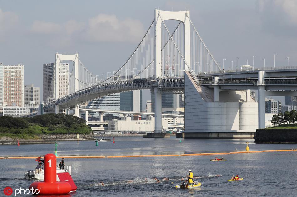 东京奥运会马拉松游泳测试赛举行