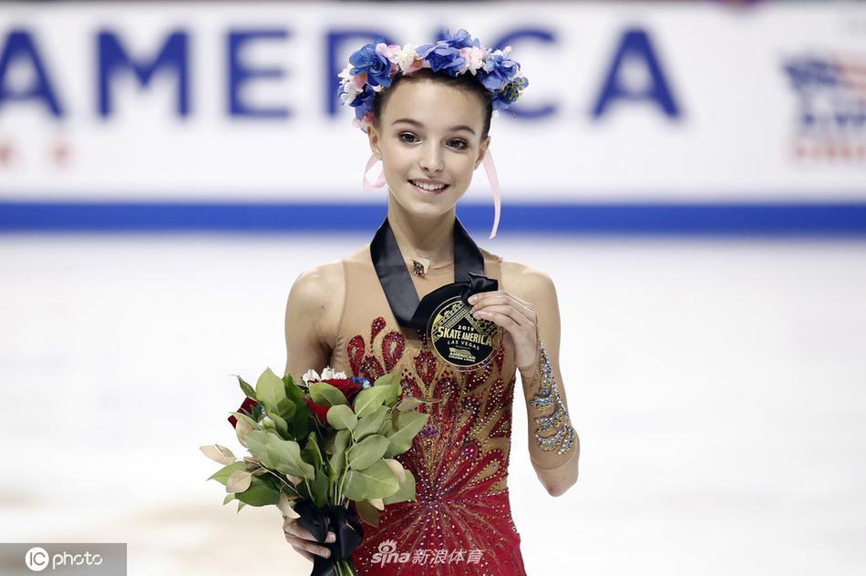 花滑大奖赛美国站女单谢尔巴科娃夺冠