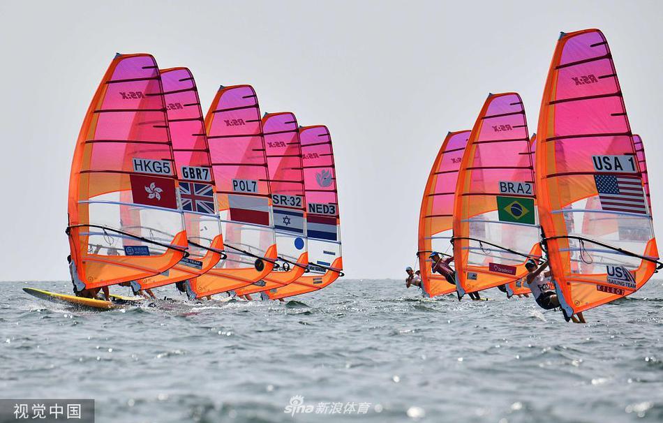 东京奥运会帆船测试赛