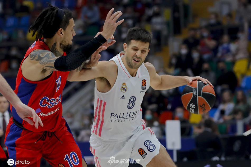 欧洲篮球冠军联赛:莫斯科中央陆军 74- 73 皇家马德里