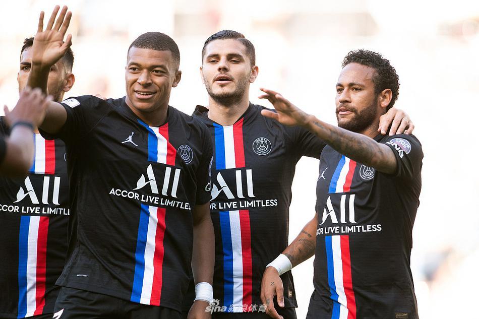 友谊赛:内马尔、伊卡尔迪双响姆巴佩破门 大巴黎9-0勒阿弗尔