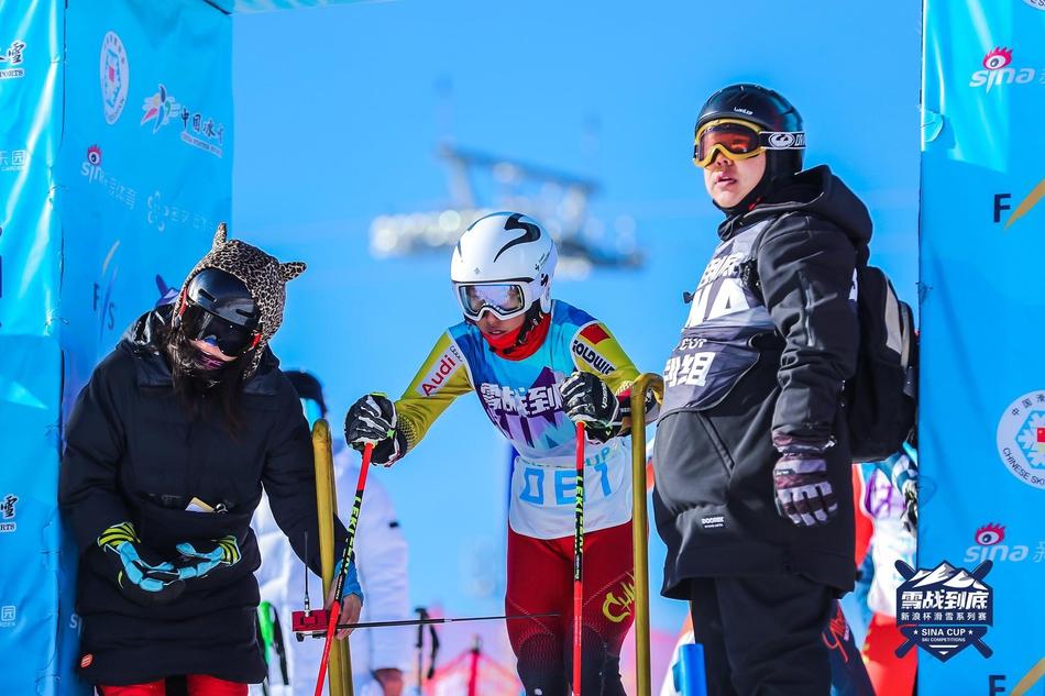 新浪杯滑雪系列赛云顶揭幕站精华瞬间