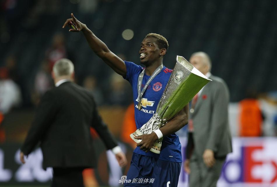欧联杯曼联庆祝夺冠(19张)