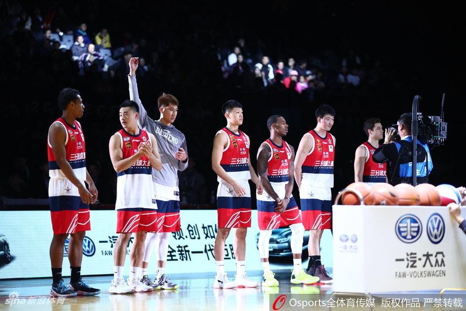 [CBA]三分大赛弗神于长春谷�h灼晋级决赛(22张)