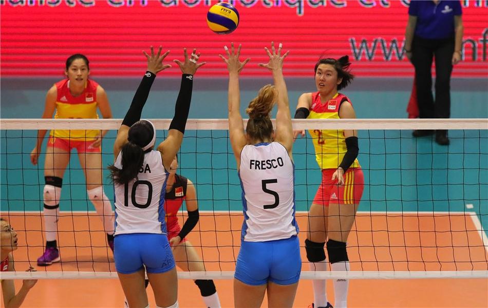 瑞士赛中国女排3-1阿根廷获季军(18张)