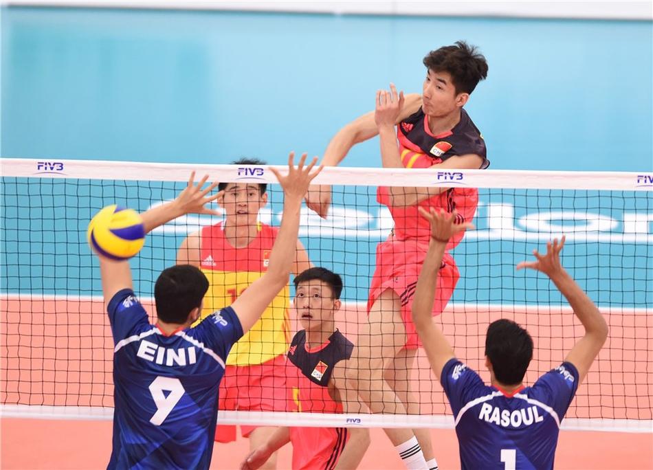 男排世青赛中国0-3伊朗获得第六(10张)
