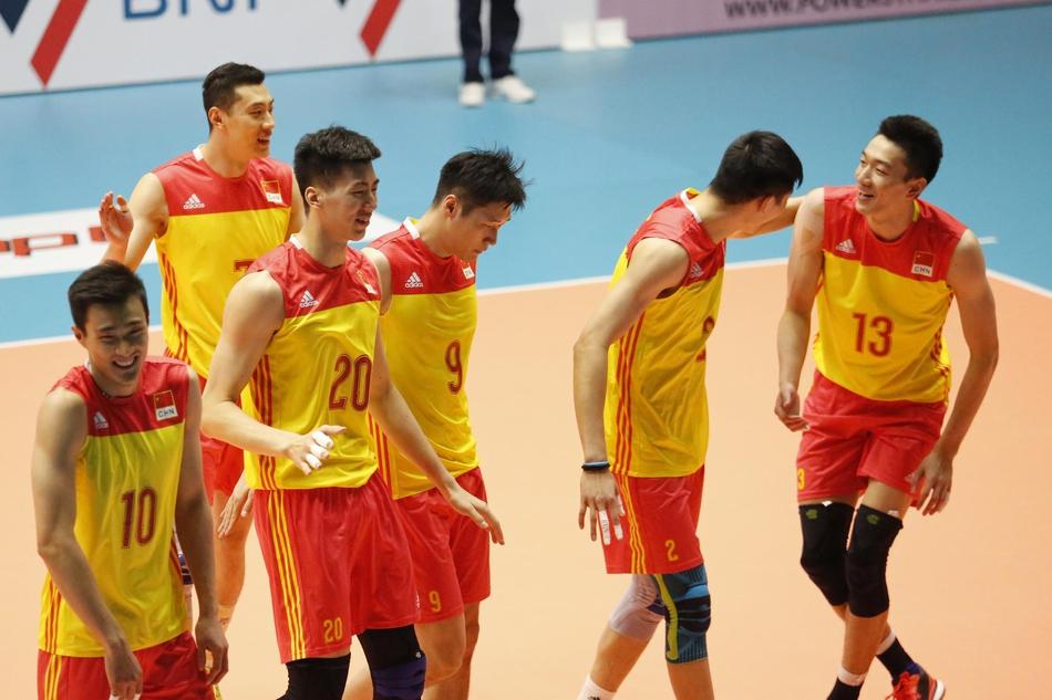 男排亚锦赛复赛中国3-0伊朗(10张)