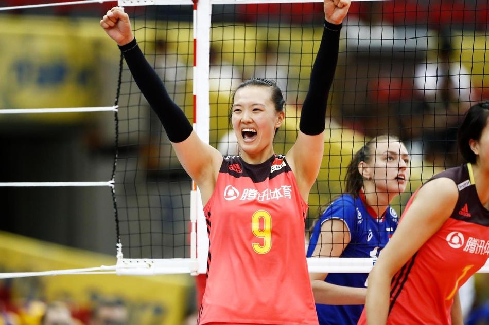大冠军杯中国女排3-0俄罗斯(15张)
