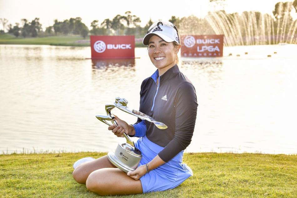别克LPGA锦标赛姜孝林成功卫冕