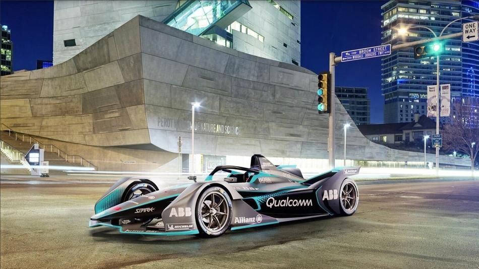 fe电动方程式发布新一代赛车图片