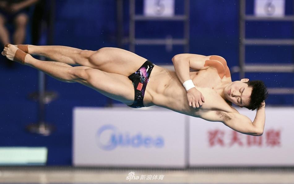 跳出600+的历史最高分 跳水新锐王宗源脱颖而出