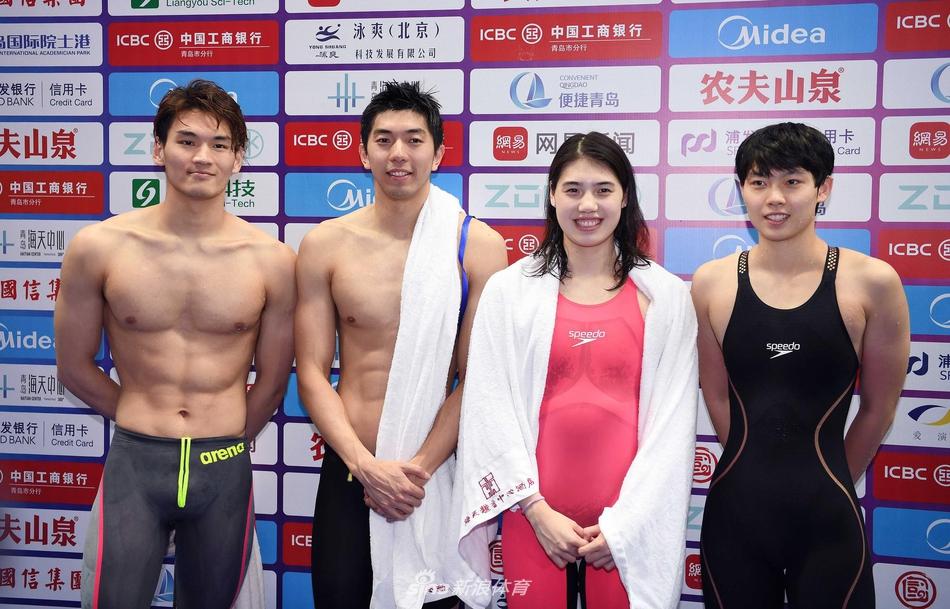 中国男女混合泳接力队强强联手 奥运有望创历史