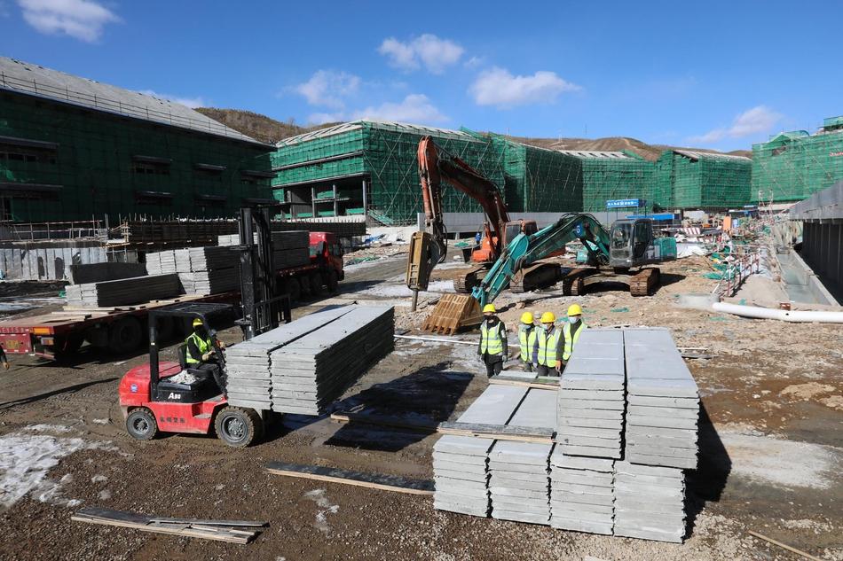 乐山在建省市重点项目复工率100% 挂图作战在建项目复工率100