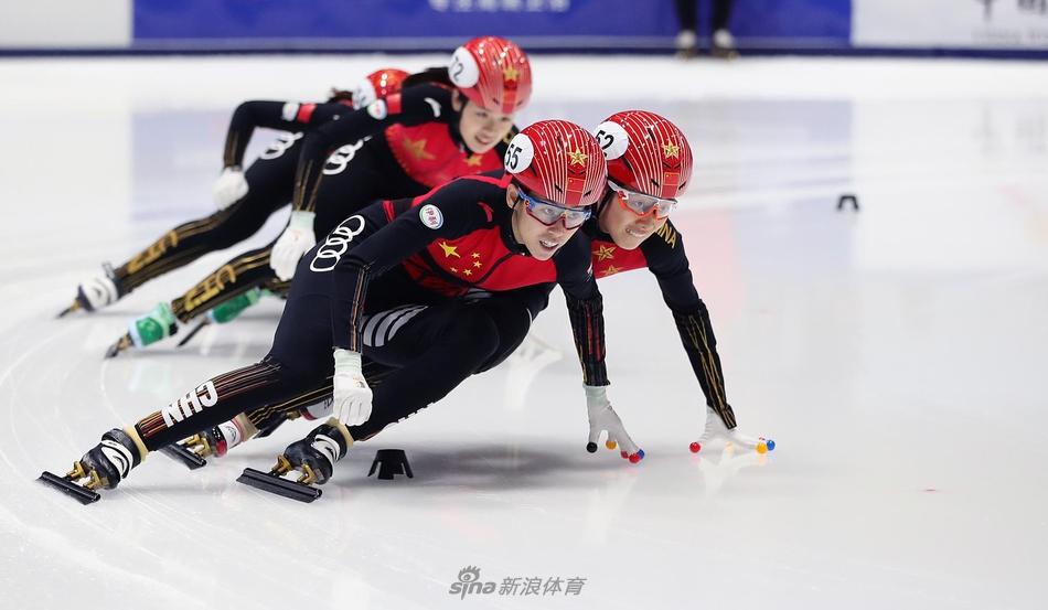 短道速滑国家队选拔赛 女子500米范可新夺冠