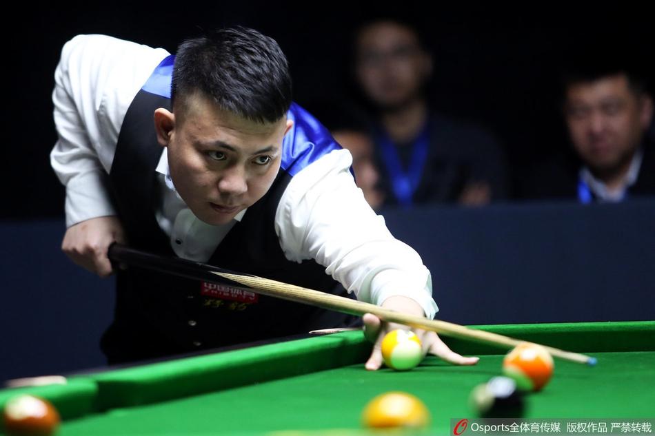 中式台球郑宇伯世界挑战赛图片