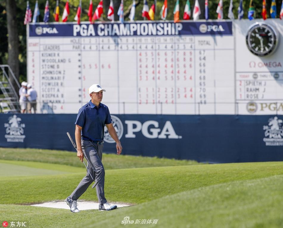 PGA第3轮斯皮思表