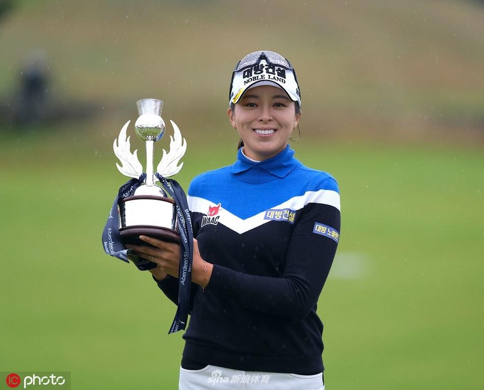 苏格兰女子公开赛许美贞夺冠