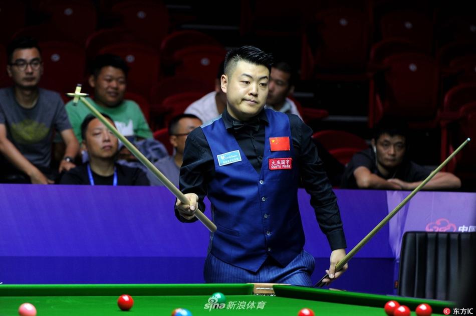 2017年7月6日,江苏无锡,2017斯诺克世界杯小组赛,中国A队2-3比