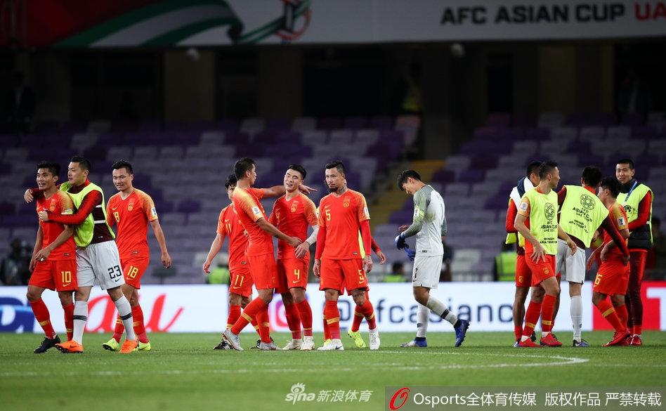 中国队取胜后进级8强