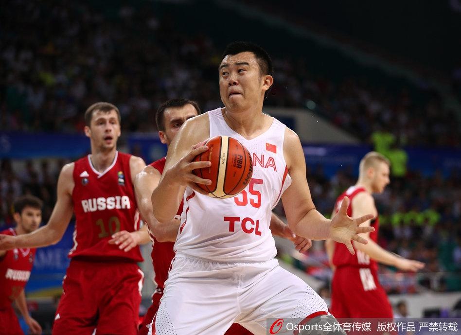 [金砖赛]中国男篮蓝队vs俄罗斯(10张)