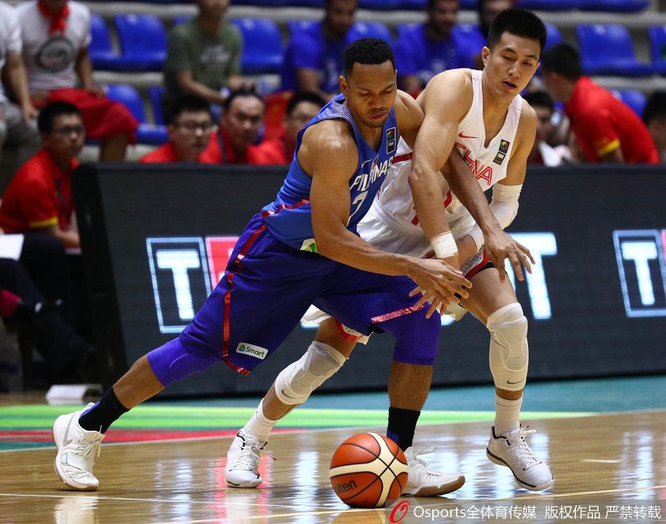 亚洲杯 中国男篮vs菲律宾