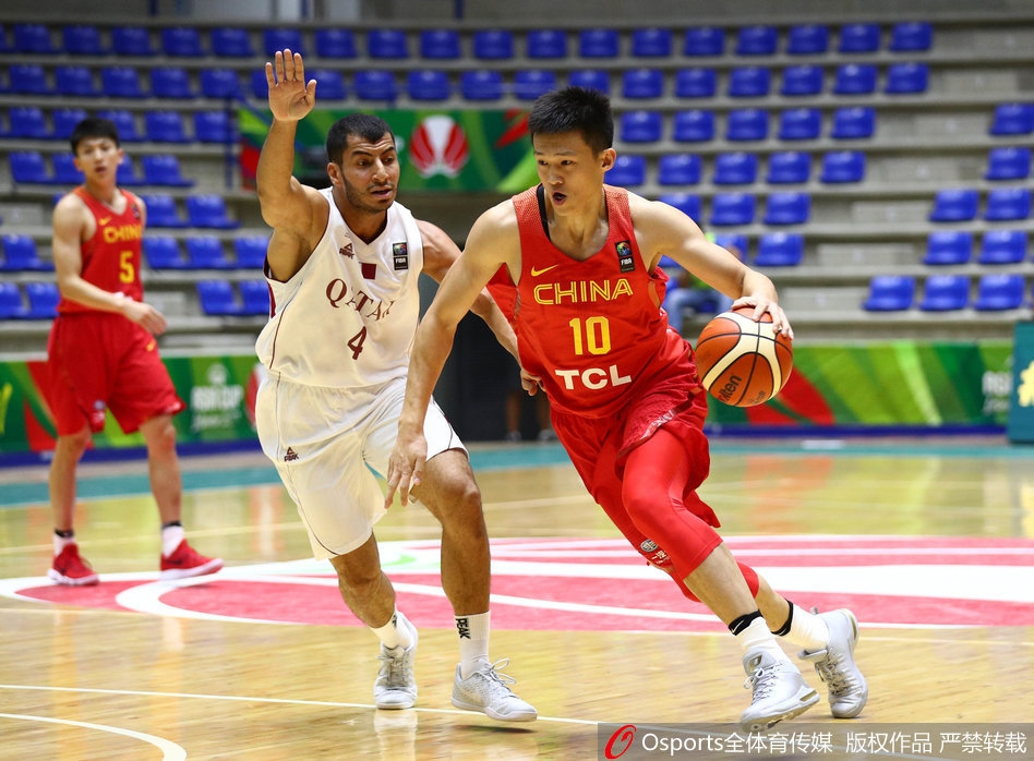 亚洲杯 中国男篮vs卡特尔