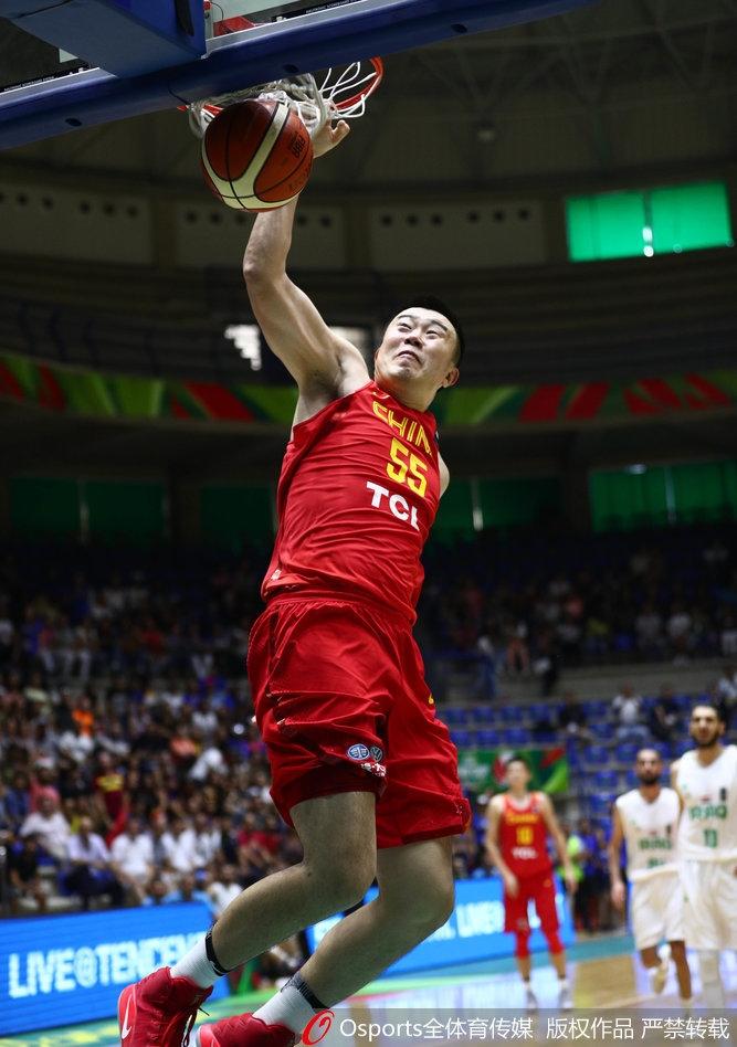 男篮亚洲杯 中国队61 60伊拉克