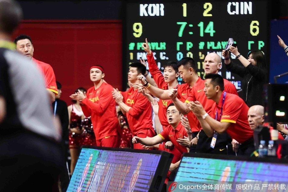2019年男篮世界杯预选赛:合并后首秀 中国男篮大胜叙利亚
