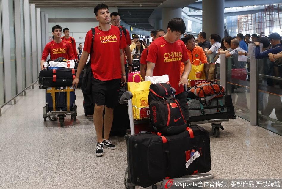 蓝队抵达北京