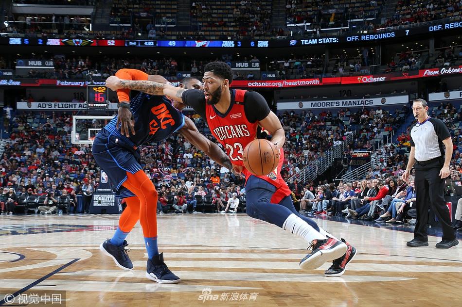 2019年02月15日NBA常规赛 雷霆vs鹈鹕 全场录像回放(图文)