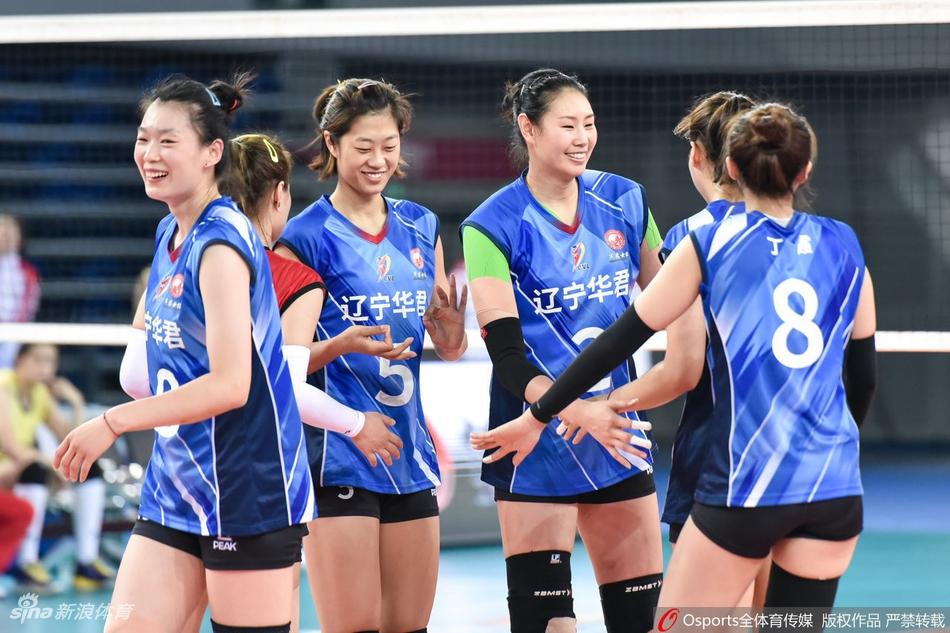 联赛辽宁女排3-0广东