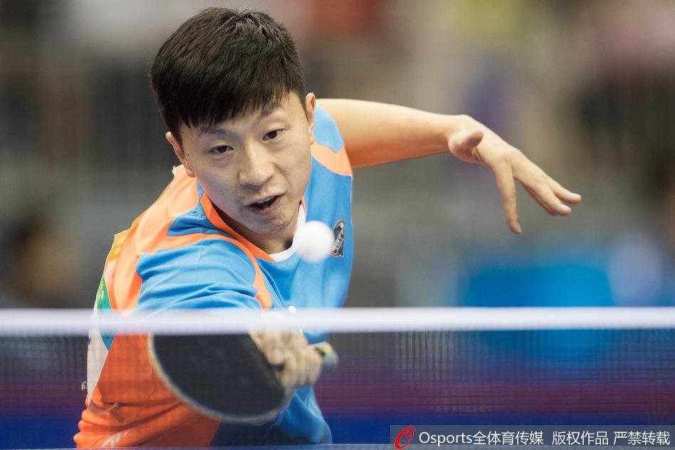 全运会乒乓球男子团体预赛马龙出战(14张)