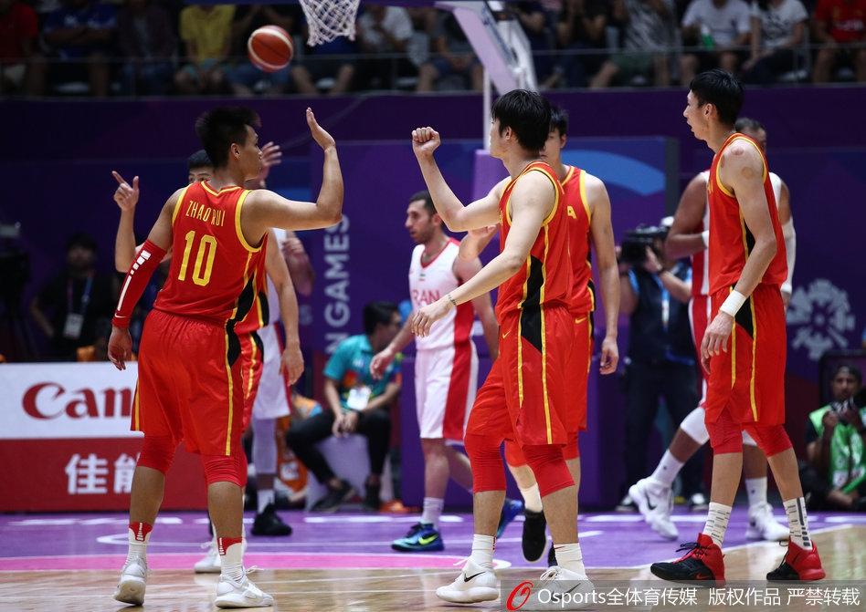中国男篮逆转伊朗