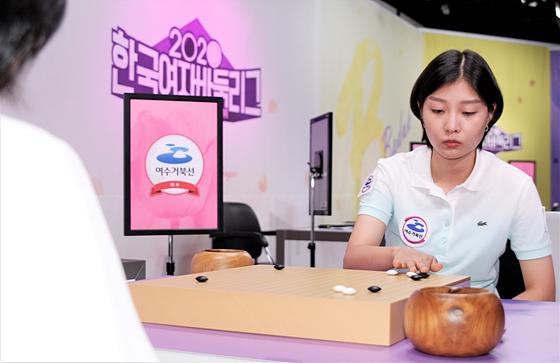 幻灯-韩国女子联赛美女云集 宋彗领阻止丽水全败