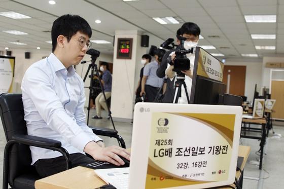 韩国棋手姜东润晋级八强