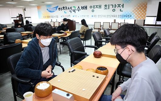 疫情下的韩国围棋比赛