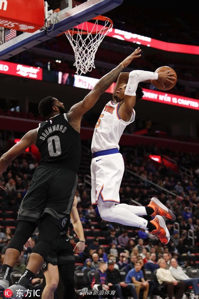 2019年02月09日NBA常规赛 尼克斯vs活塞 全场精华回放