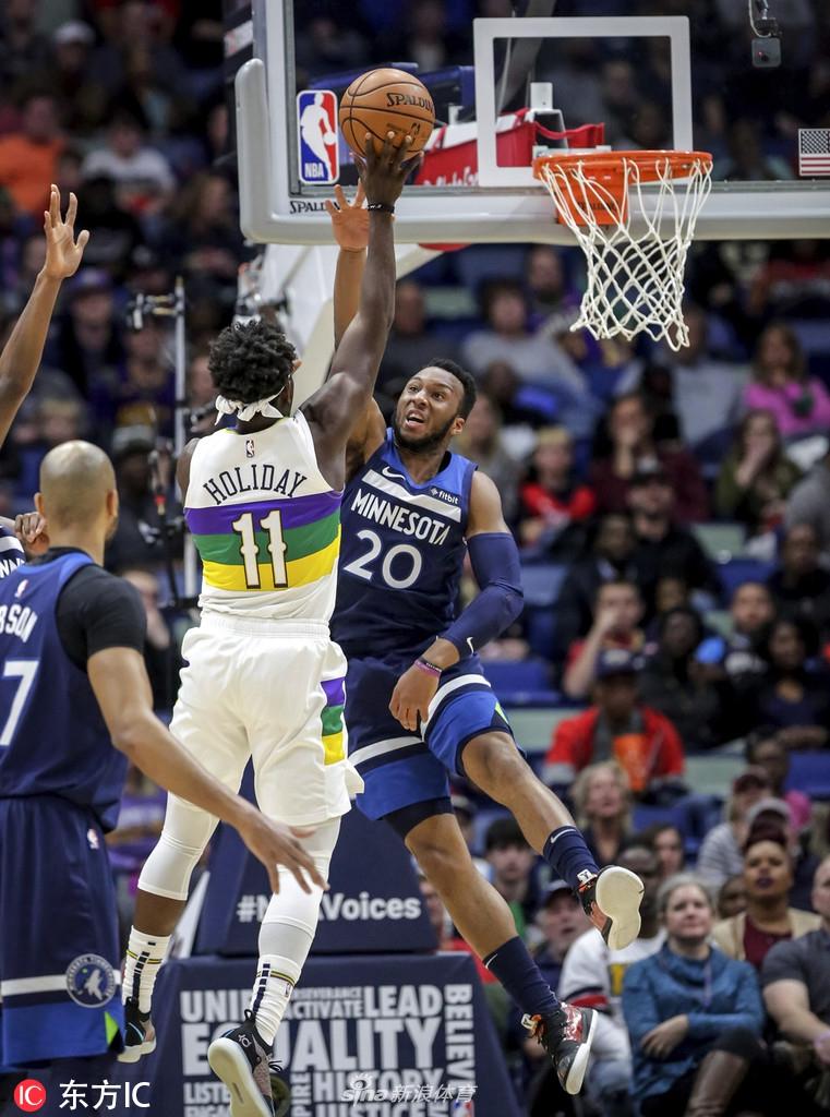 NBA常规赛 森林狼vs鹈鹕 第二节 录像