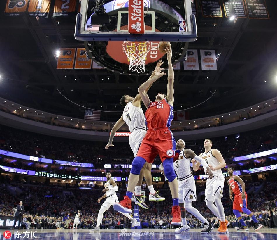 02月09日NBA常规赛 76人vs掘金 第四节 录像