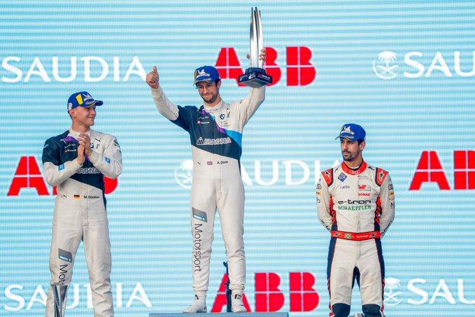 FE利雅得站Race2:宝马包揽冠亚军 奥迪收获季军