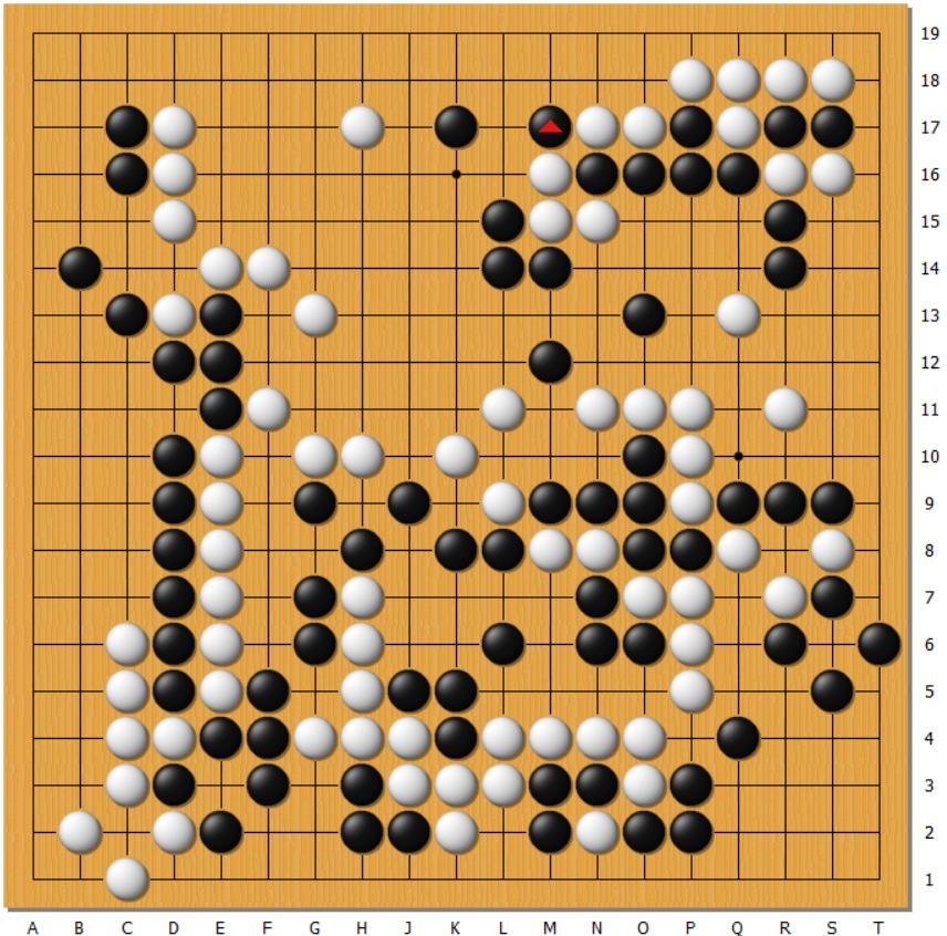 动图棋谱-农心杯第一阶段最终局 杨鼎新胜金志锡