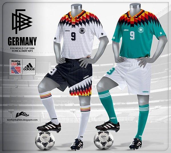 94世界杯经典球衣 满满回忆