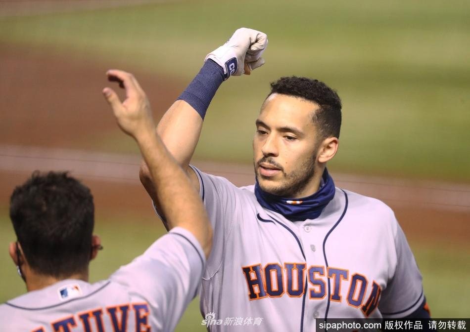 MLB太空人8-2亚利桑那响尾蛇