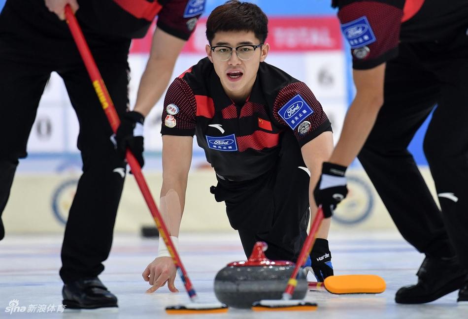 冰壶天津赛中国7-4加拿大