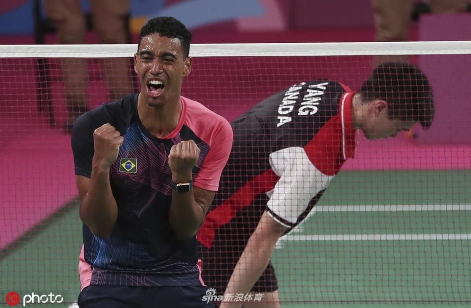 泛美运动会科埃略羽球男单夺金