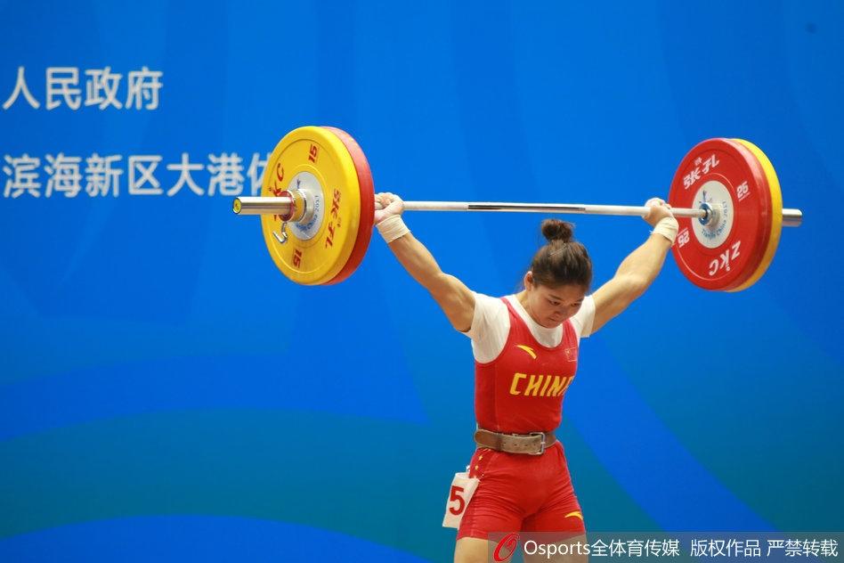 全运护校58公斤级举重决赛打响2014省医女子健美操图片