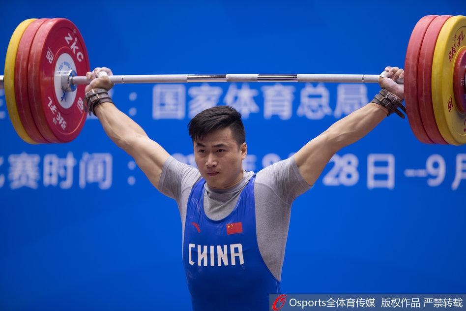 全运男子决赛85公斤级举重湖北队田涛夺冠荡秋千的感受二年级图片